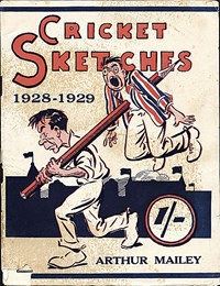 Cricket Sketches 1928-1929 (NSW Bookstall, 1929?)  ([1929?])