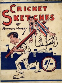 Cricket Sketches (NSW Bookstall, 1924?)  ([1924?])
