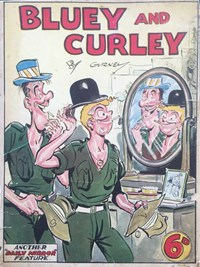 "Bluey and Curley (""Truth"" and ""Sportsman"", 1942? series) #1947 — No title recorded"
