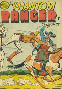 The Phantom Ranger (Frew, 1949 series) #77 — Untitled (Cover)