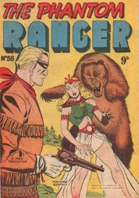 The Phantom Ranger (Frew, 1952 series) #58 — Untitled (Cover)
