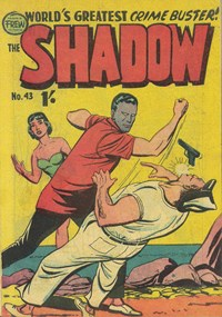 The Shadow (Frew, 1954 series) #43 — Untitled (Cover)