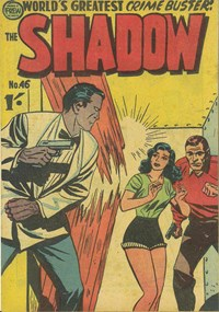 The Shadow (Frew, 1954 series) #46 — Untitled (Cover)