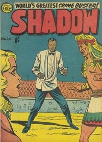 The Shadow (Frew, 1954 series) #34 — Untitled (Cover)