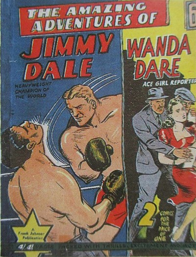 The Amazing Adventures of Jimmy Dale Wanda Dare Ace Girl Reporter (Frank Johnson, 1943?)  ([1943?])