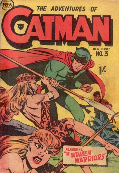 The Adventures of Catman (Frew, 1957 series) #3 ([1957?])