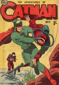 The Adventures of Catman (Frew, 1957 series) #7 ([1958?])