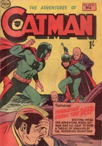 The Adventures of Catman (Frew, 1957 series) #4 ([January 1958?])