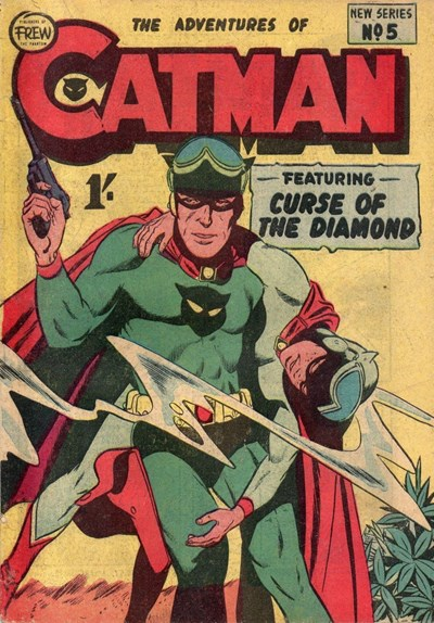 The Adventures of Catman (Frew, 1957 series) #5 ([February 1958?])