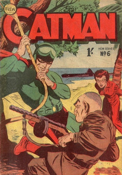 The Adventures of Catman (Frew, 1957 series) #6 ([March 1958?])