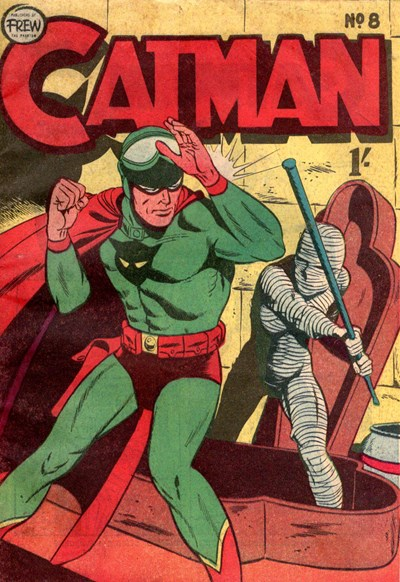 The Adventures of Catman (Frew, 1957 series) #8 ([May 1958?])