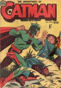 The Adventures of Catman (Frew, 1957 series) #10 ([1958?])