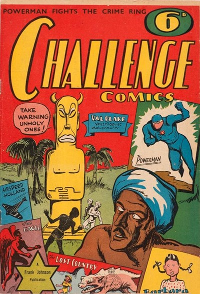 Challenge Comics (Frank Johnson, 1942?)  ([1942?])