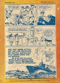 """Punch"" Perkins of the Fighting Fleet (Red Circle, 1950 series) #2 — Untitled (page 27)"