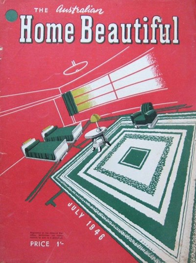 The Australian Home Beautiful (Herald, 1925? series) v25#7 (July 1946)