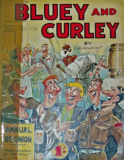 Bluey and Curley Annual (Herald, 1946? series) #1953 ([1953?]) —Annual Re-Union
