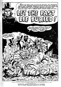 Doomsday (KG Murray, 1973 series) #20 — Let the Past Lie Buried (page 1)