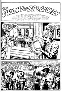 Terror Tales Album (Murray, 1978 series) #8 — The Swami of Broadway (page 1)