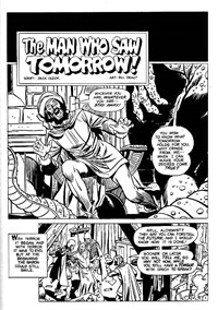 Terror Tales Album (Murray, 1978 series) #8 — The Man Who Saw Tomorrow! (page 1)