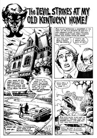Terror Tales Album (Murray, 1978 series) #8 — The Devil Strikes at My Old Kentucky Home! (page 1)