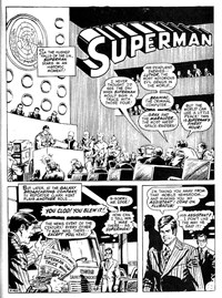 Superman Supacomic (KG Murray, 1974 series) #175 — The Attack of the Phantom Super-Foes (page 1)