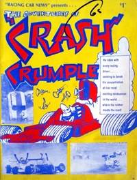 """Racing Car News"" Presents the Adventures of ""Crash"" Crumple (Fleetwood, 1985?)  — Untitled"