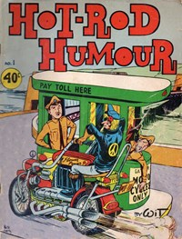 Hot Rod Humour (Yaffa/Page, 1975? series) #1 — Untitled (Cover)