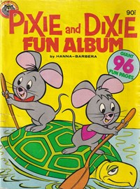 Pixie and Dixie Fun Album by Hanna-Barbara (Murray, 1980?)  — Untitled (Cover)