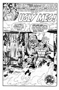 Doomsday Album (Murray, 1977 series) #10 — [The Creature from Beyond] Ugly Meg Chapter Three (page 1)