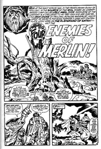 Doomsday Album (Murray, 1977 series) #10 — [The Creature from Beyond] Enemies of Merlin Chapter Four (page 1)