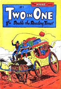 Two in One (Colour Comics, 1956 series) #1