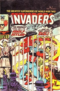 The Invaders (Yaffa/Page, 1978 series) #7 — Untitled