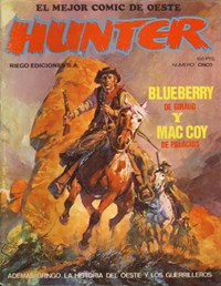 Hunter (Riego, 1980 series) #5 — Blueberry