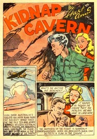 A Climax Comic (KG Murray, 1947 series)  — Kidnap Cavern (page 1)