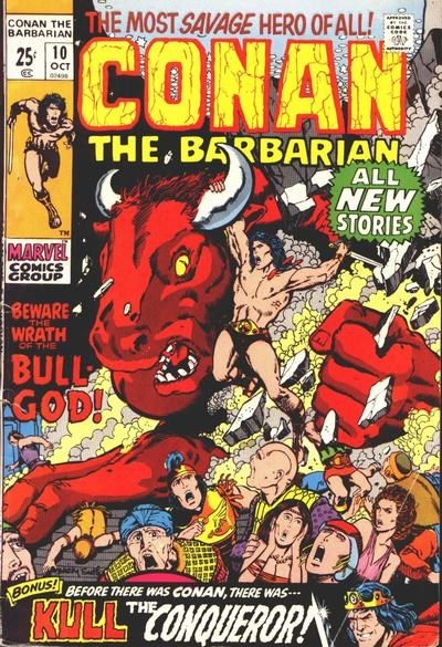 Conan the Barbarian (Marvel, 1970 series) #10 (October 1971)