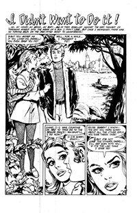 Magic Moment Romances (Colour Comics, 1958 series) #82 — I Didn't Want to Do it! (page 1)