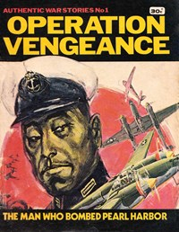 Authentic War Stories (KG Murray, 1974? series) #1 — Operation Vengeance (Cover)