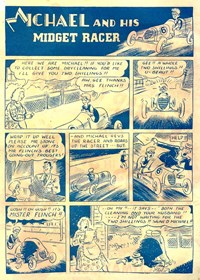A Climax Comic (KG Murray, 1947 series)  — Michael and his Midget Racer (page 1)