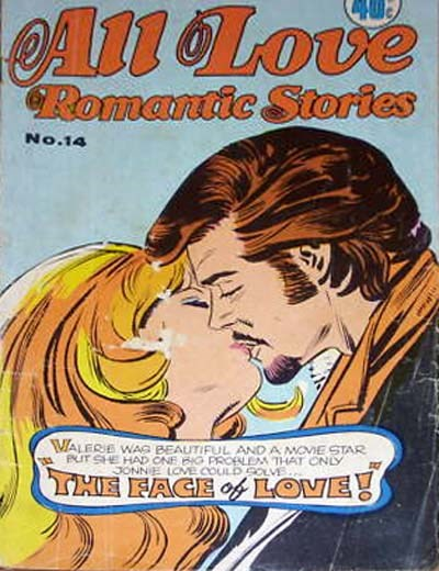 All Love Romantic Stories (KG Murray, 1974? series) #14 ([August 1975?])