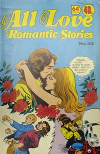 All Love Romantic Stories (KG Murray, 1974? series) #22 ([August 1977?])