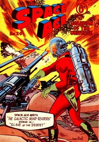 Space Ace Guardian of the Universe (Atlas Publishing, 1960 series) #20