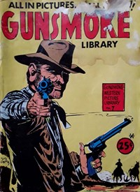 Gunsmoke Western Picture Library (Yaffa/Page, 1970? series) #7 — Untitled (Cover)