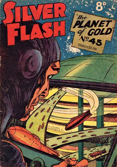 Silver Flash and his Frog-Men (Invincible, 1949 series) #45 ([February 1954?])
