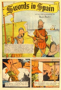A Climax Comic (KG Murray, 1947 series)  — Swords in Spain (page 1)
