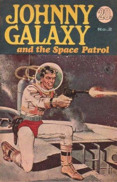 Johnny Galaxy and the Space Patrol (Sport Magazine, 1968 series) #2 ([ 1967?])