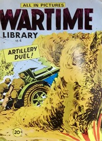 Wartime Library (Yaffa/Page, 1972? series) #4 — Artillery Duel! (Cover)