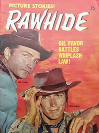Rawhide (Magman, 1971?) #1196 — Gil Favour Battles Whiplash Law! (Cover)