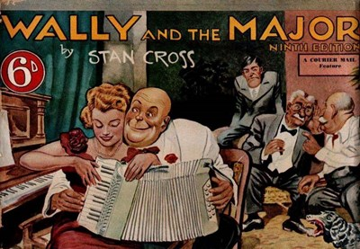 Wally and the Major [Courier-Mail] (Herald and Weekly Times, 1942 series) #9 ([1950])
