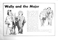 Wally and the Major [Herald] (Herald and Weekly Times, 1942? series) #13 — Wally and the Major (page 1)