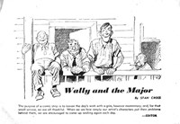 Wally and the Major [Advertiser] (Herald and Weekly Times, 1942 series) #17 — Wally and the Major (page 1)